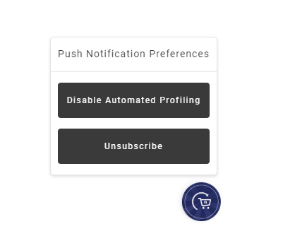 Opt-out of Automated Profiling